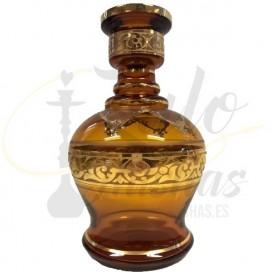 Imágenes de base de bohemia para cachimbas marron jumbo amber