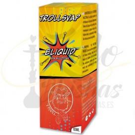 Imágenes de TrollsVap líquido para cigarrillos electrónicos fabricados por Delta Shisha World