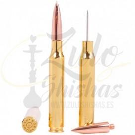 Imágenes de punzón con diseño de bala AK47 MOB Hookah