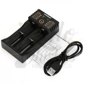 Cargador doble de baterías - USB