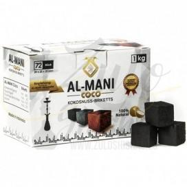 Imágenes de coco Al Mani Golden Premium comprar online barato para shisha