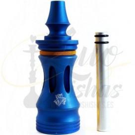 Imágenes de shisha LEgacy Hookah en color azul eléctrico