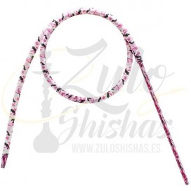 Imágenes de manguera para shisha Slim XL Pink Camuflaje