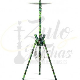 Imágenes de cachimba Skull Ovni Camouflage Green