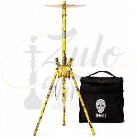 Imágenes de cachimba Skull Ovni Yellow Camouflage