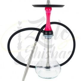 Imágenes de cachimba Alpha Hookah X comprar online en color rosa