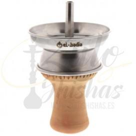 Imágenes de cachimba El Badia C7 Gold comprar online