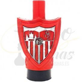 Imágenes de boquilla 3D para cachimbas Sevilla FC