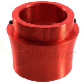 Imágenes de rosca de conexión click para Elox 630 en color rojo metalizado