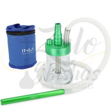 Cachimba INVI Nano Green comprar online con maleta de transporte
