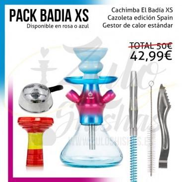 Imágenes de cachimba en oferta El Badia XS comprar online promoción