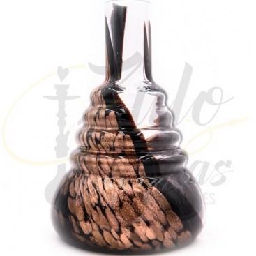 Imágenes de base para shishas 480 Cold Smoke Dorada y Negra