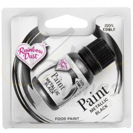 Rainbow Dust 24ml - Negro Metalizado
