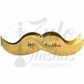 Imágenes de cachimba MR. Shisha Mini Legend 2.0 Gold en color DORADA