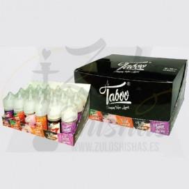 Imágenes de líquido para vapear TABOO  RED BLAST (FRAMBUESA Y MENTA)