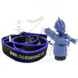 Imágenes de boquilla 3D Acción Goku Azul reutilizable personal