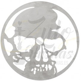 Imágenes de plato para shisha Skull Desing Assiete compatible con Kaya Shishas