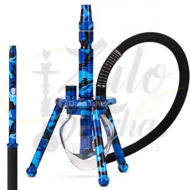 Imágenes de cachimbas SKull Ovni Camouflage XS Blue Azul