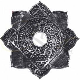 Imágenes de plato maracaná leao COLD SMOKE ARABE en plateado y negro