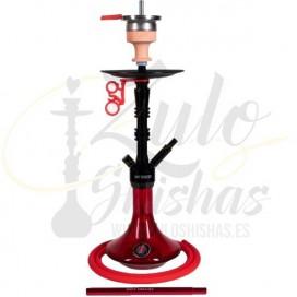 Imágenes de cachimba AMY DELUXE 069.02 Alu Lima Red en color roja nuevos modelos amy deluxe