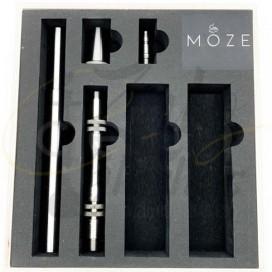 Imágenes de cachimba MOZE BREEZE BLACK en color NEGRA