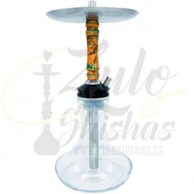Imágenes de cachimba MOZE BREEZE ORANGE en color NARANJA