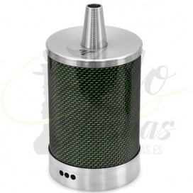 VYRO One Carbon GREEN CACHIMBA - Travel (Mini)  ¡Con Estuche!