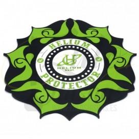 Imágenes de tapete para cachimbas HELIUM PROTECTOR verde CACHIMBA PLANET