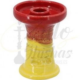 Imágenes de 80 Feet edición limitada ZOMO RED AND YELLOW amarilal y roja