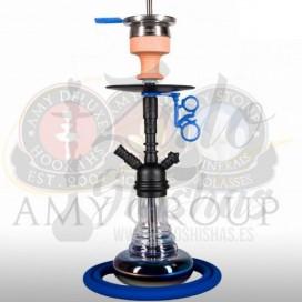 Imágenes de cachimbas AMY Deluxe 036.03 Blue Black comprar online