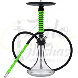 Imágenes de MAMAY CUSTOMS SHISHA COILOVER MINI GREEN tipo RUSAS