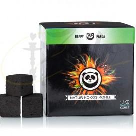 Imágenes de Happy Panda 1.1kg carbón para cachimbas baratos en ZULO SHISHAS