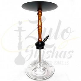 Imágenes de nuevas cachimbas MR SHISHA MEGATRON comprar online en color NEGRA MATE