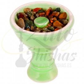 Imágenes de piedras para cachimbas fumables HOOKAIN melón, sandía, maracuyá, bayas silvestres