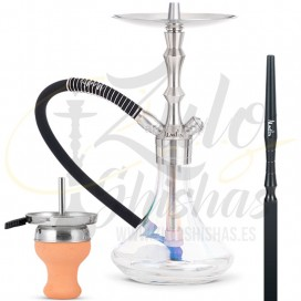 Imágenes de cachimba Aladin MVP 360 Shiny Clear comprar online - ACERO INOXIDABLE