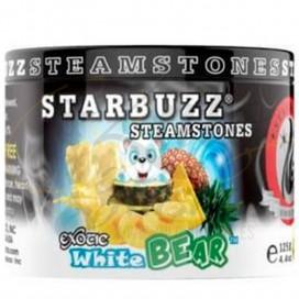 Imágenes de piedras de melaza para shishas White Bear Starbuzz