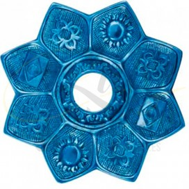 Imágenes de platos para cachimbas AMAZON EVOLUTION BLUE en SHISHAS
