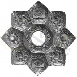 Imágenes de platos para cachimbas Amazon Evolution Tray Silver Plateado