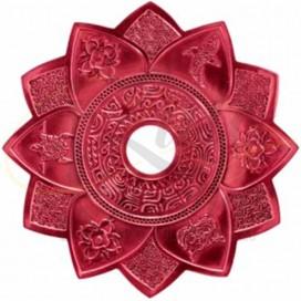 Imágenes de plato para cachimbas AMAZON MAORI RED o de color ROJO