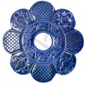 Imágenes de platos AMAZON EXTREME BLUE AZUL para cachimbas BRASILEÑOS