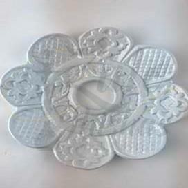 Imágenes de plato AMAZON EXTREME TRAY WHITE para cachimbas