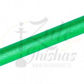 Imágenes de mangueras verde para cachimbas MYA CORAL SET