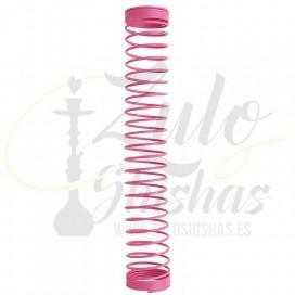 Imágenes de muellede manguera para cachimbas en color ROSA