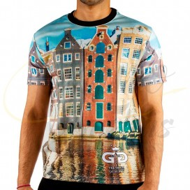 Imágenes de camiseta Grace Glass Amsterdam Shirt - S ROPA CACHIMBERA