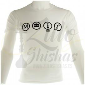 Imágenes de camiset para cachimberos shishas bar El Badia Metro Boulot