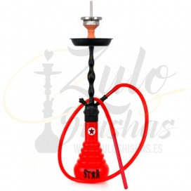 Imágenes de cachimbas AMY DELUXE 4-STAR RED BLACK 630