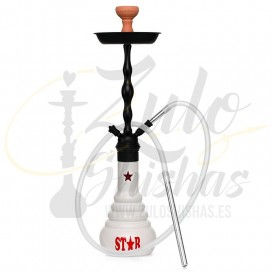 Imágenes de cachimba AMY DELUXE 4-STAR WHITE BLACK comprar online