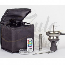 Imágenes de cachimbas Heavensent cube 2.0 Black comprar online con maleta