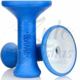 Imágenes de cazoleta para cachimbas OBLAKO M PHUNNEL MONO BLUE