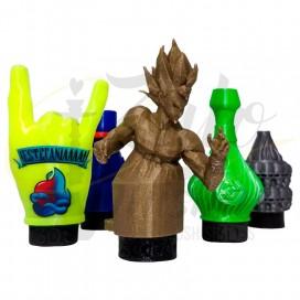 Imágenes de bquilla 3D al azar varios colores en precio económico y varios diseños